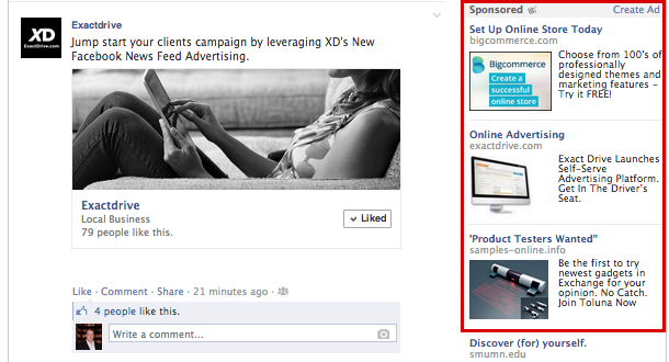 FacebooK_Retargeting_RightSideAd