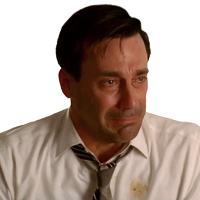 Don Draper Stressed