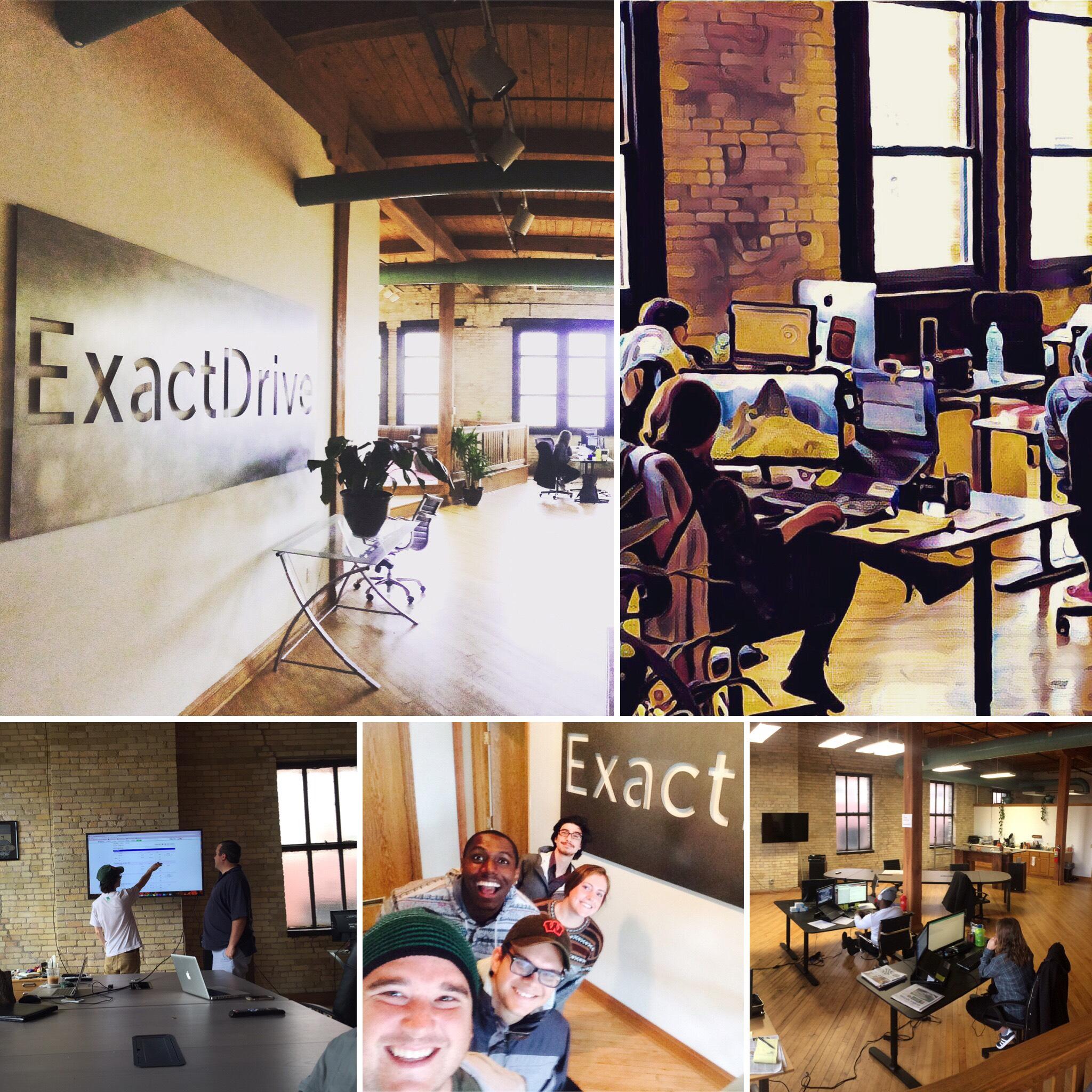 About ExactDrive - advertising platform
