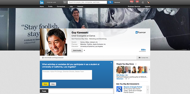 Guy Kawasaki lilnkedin profile picture.png