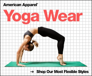 american apparel retargeting ad