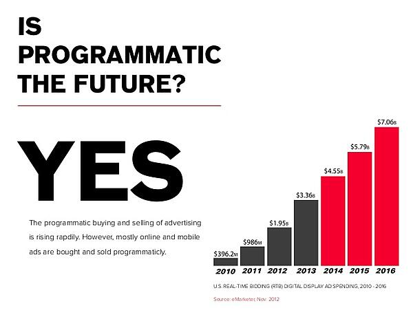 programmatic advertising is the future